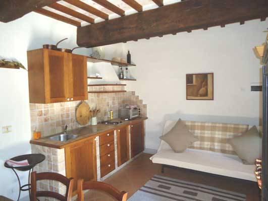 Appartamento in casale ristrutturato a città della pieve u il